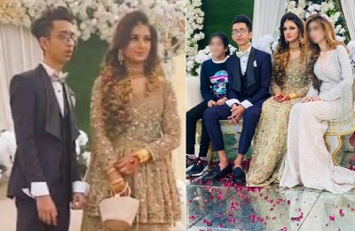 Young Pakistani couple, young couple, Asad Nimra, Pakistan, youngest couple, Karachi