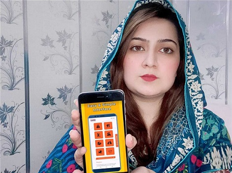 KP government, mobile app, abuse, women, transgender persons, children