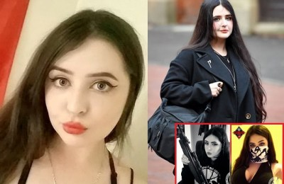'Miss Hitler, beauty pageant, contestant, Alice Cutter, jailed, terror group, UK