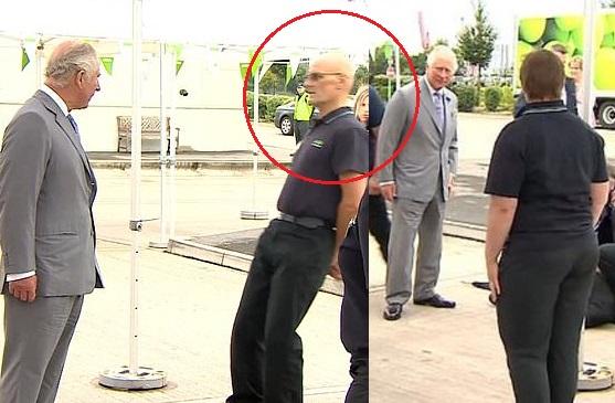 Asda worker Prince Charles, Prince Charles, Asda worker