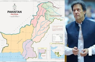 Pakistan, Prime Minister, political map