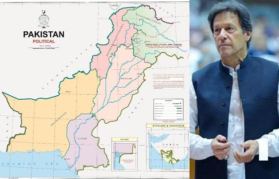 Pakistan, Prime Minister, political map
