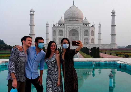 Taj Mahal, coronavirus, COVID-19