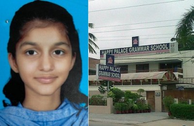 Karachi, Areeba Asif, Happy Palace School, die