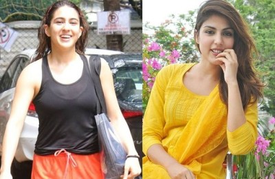 Sara Ali Khan, Rhea Chakraborty, Sushant singh Rajput, drug supply