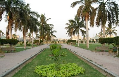 Computerized record, trees, parks, Karachi
