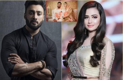Sana Javed, Umair Jaswal, marriage