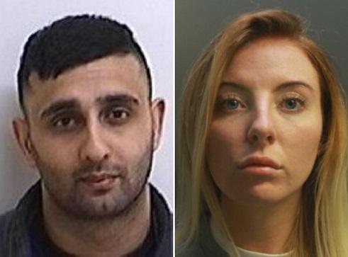 Ayesha Gunn, Khuram Razaq, jail, UK