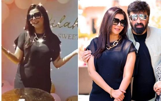 Nida Yasir, Birthday, daughter birthday, Dubai