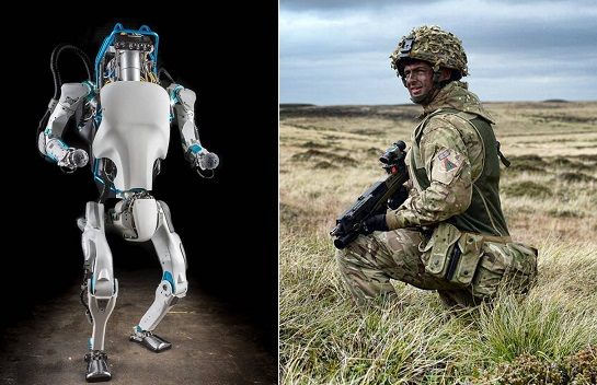 UK military robots, Britain, Army