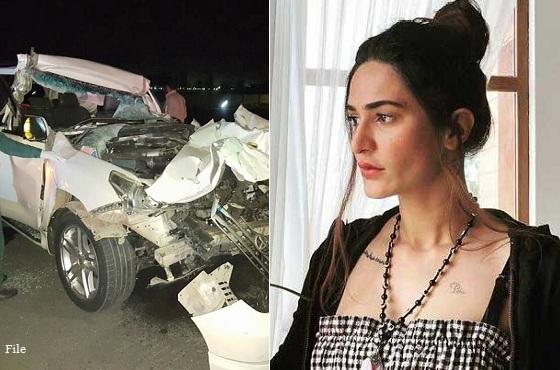 Laraib Mudhwal, model, accident, Balakot, Lahore model
