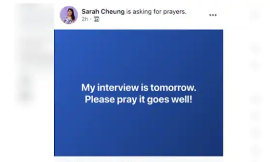 Facebook prayer tool, Facebook