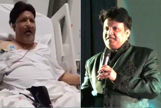 Umer Sharif, comedian, Pakistan, hospitalized