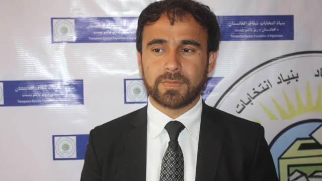 نعیم ایوبزاده، رییس بنیاد انتخابات شفاف افغانستان(تیفا)