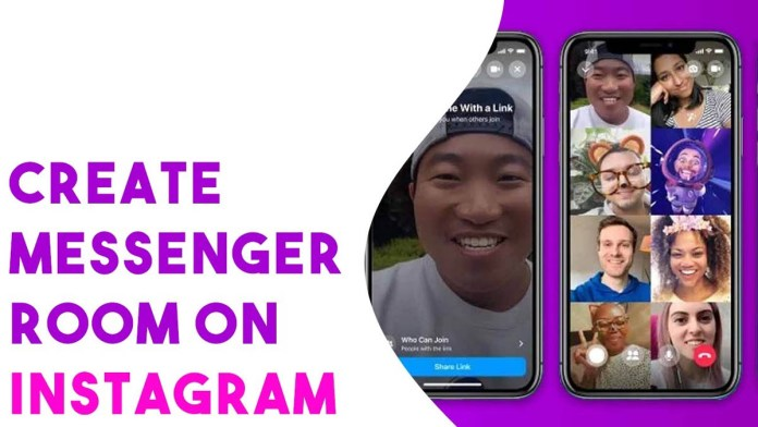 how to creat and join instagram messanger room