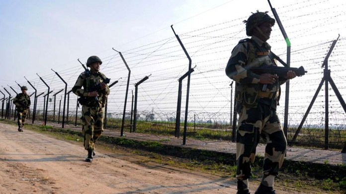 pakistani citizen entered in indian border