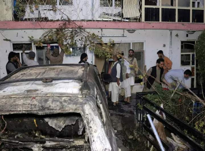 US offers to relocate, pay money for Afghan family hit by drone in Kabul