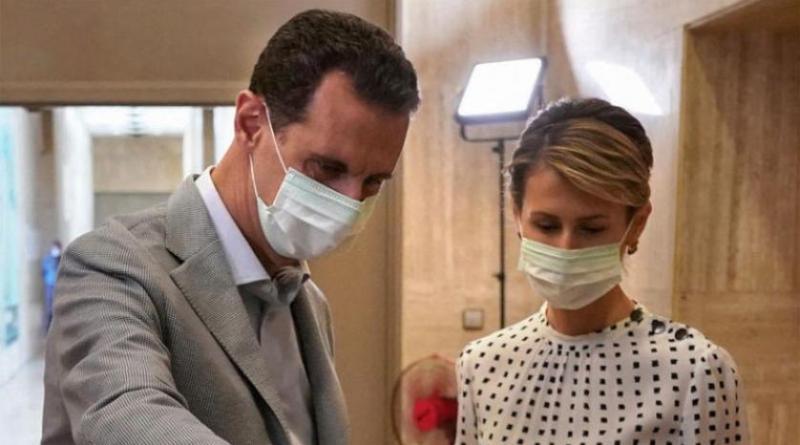 الرئيس الأسد وعقيلته تعافيا ... والمسحة الأخيرة سلبية
