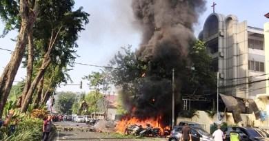 إندونيسيا .. إنفجار يهز كنيسة في يوم عيد الشعانين