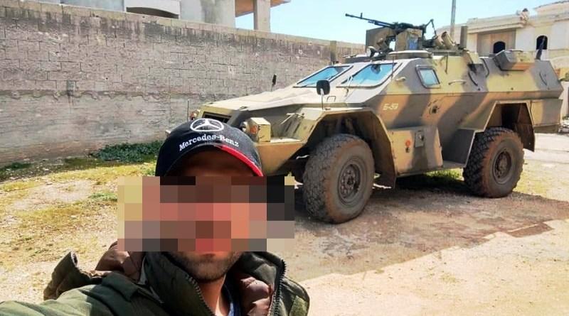 """العربة المدرعة الروسية """"فيستريل"""" تتواجد في سوريا"""