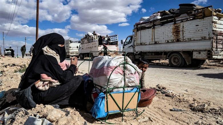مخيم الهول أكثر من 80 عائلة من دير الزور يستعدون للخروج اليوم
