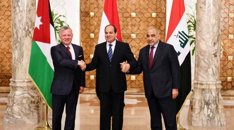"""مشروع """"الشام الجديد"""" .. قمة عراقية مصرية أردنية في بغداد"""