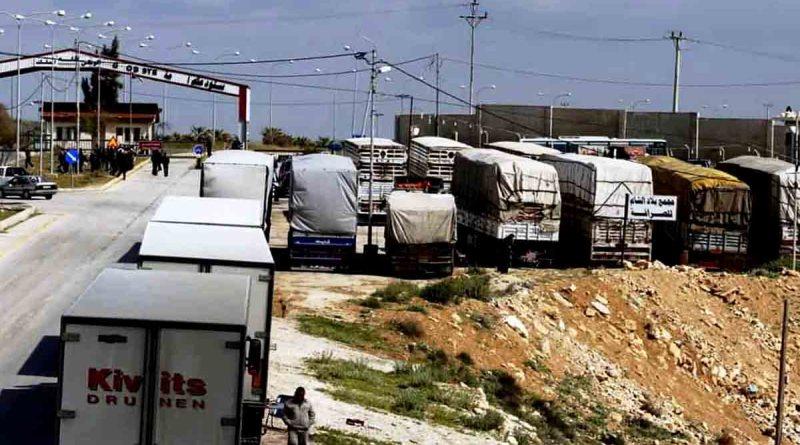 اتفاق سوري أردني لتسهيل عبور الشاحنات والبرادات السورية عبر الأردن