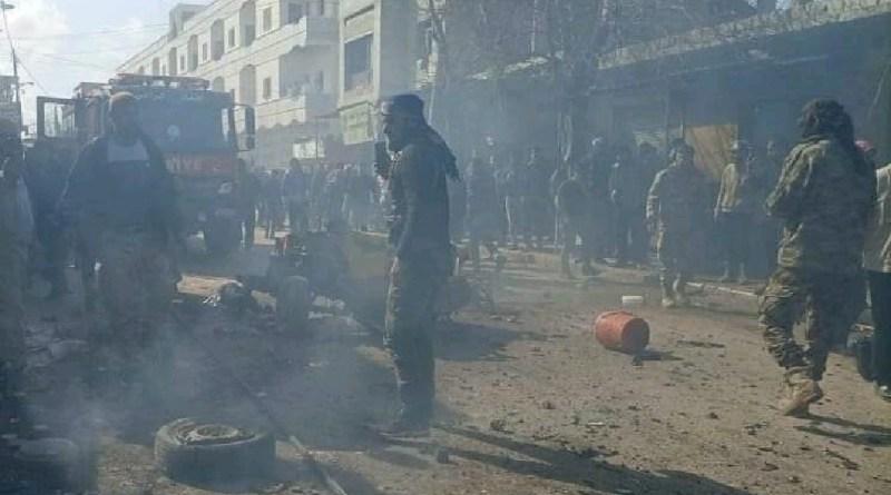 الشمال السوري يشهد انفجارات عديدة في مناطق سيطرة المجموعات المسلحة