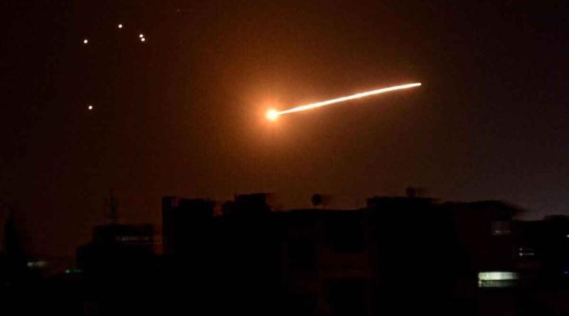 عدوان إسرائيلي على سوريا في منطقة القصير بريف حمص