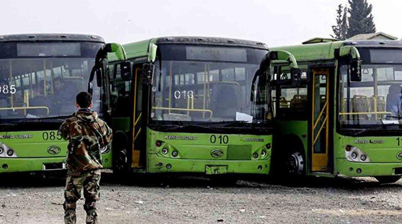 مسلحين درعا .. وصول الدفعة الأولى إلى ريف حلب