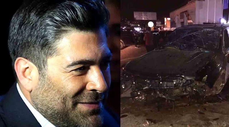 وائل كفوري في أول ظهور له بعد الحادث وخروجه من المستشفى