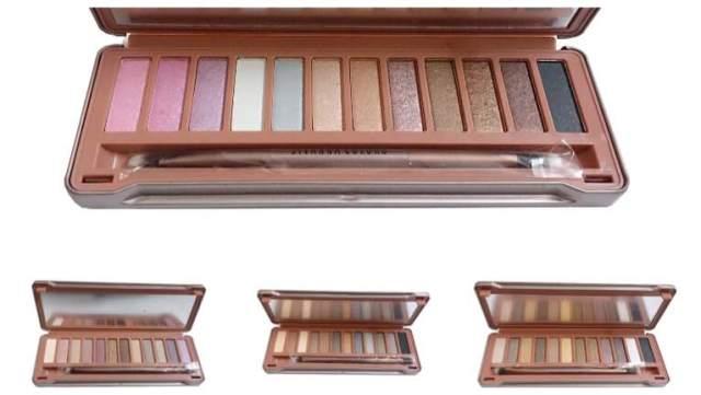sivanna classic earthstone eyeshadow palette