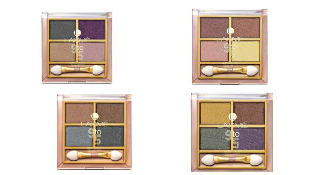 Lakme 9 To 5 Eye Color Quartet Eye Shadow