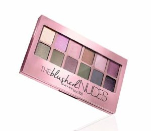 Maybelline New York The Blushed Nudes Palette Eyeshadow