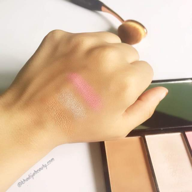 makeup-revolution-iconic-blush-bronze-and-brighten-review-swatches-khadija-beauty-2