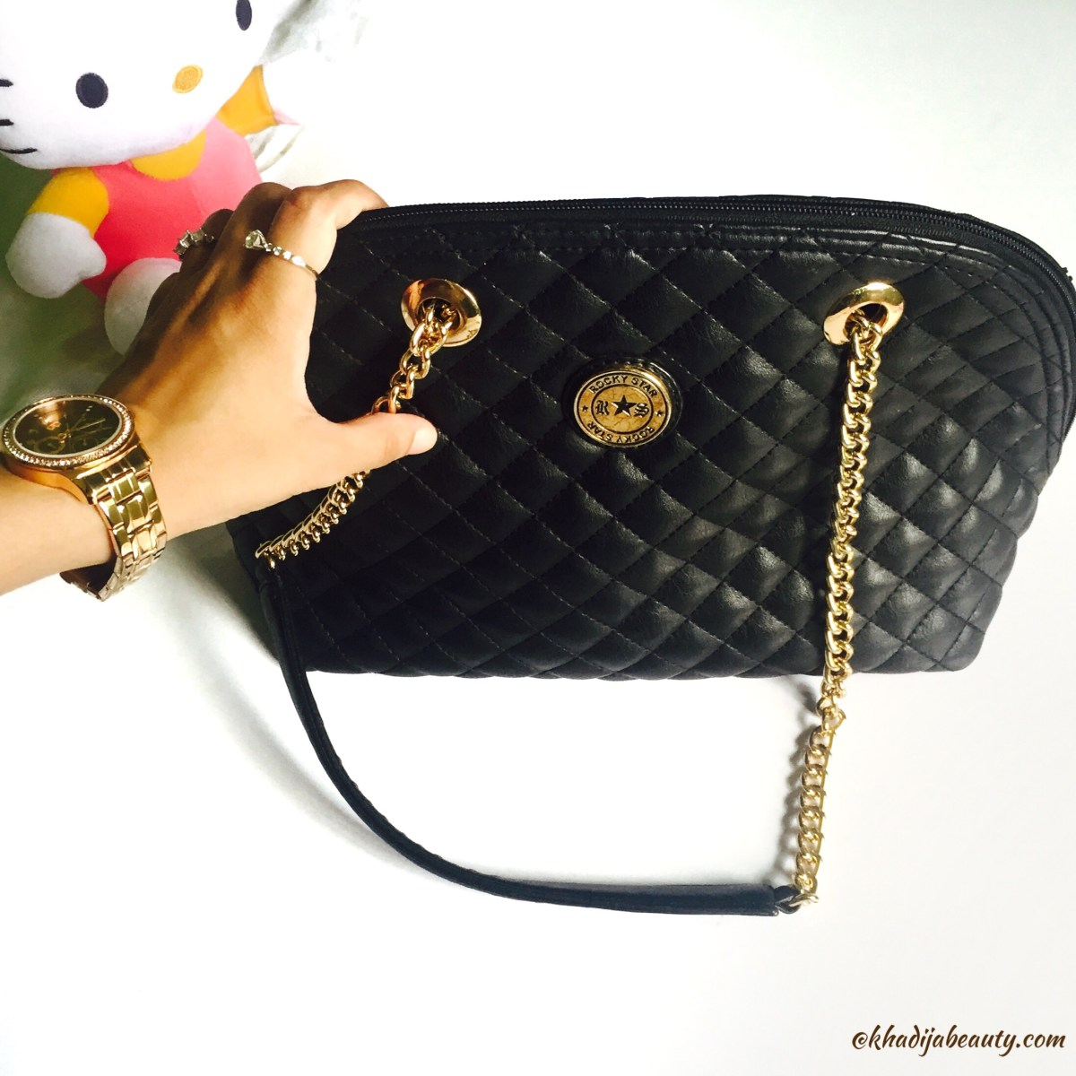 Rocky Star Handbag Review| Chic And Classy Black Handbag