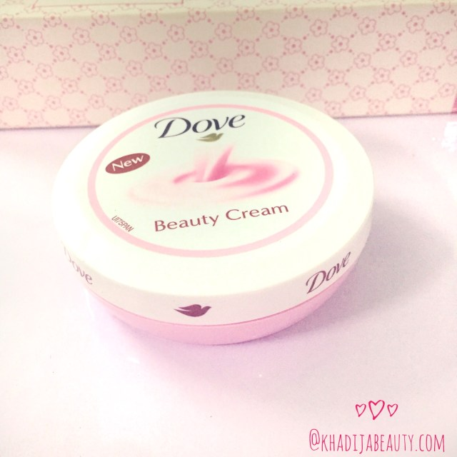 dove beauty cream, khadija beauty