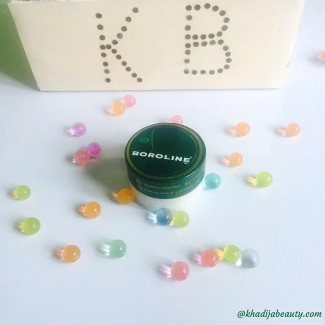 boroline review, night cream review, khadija beauty