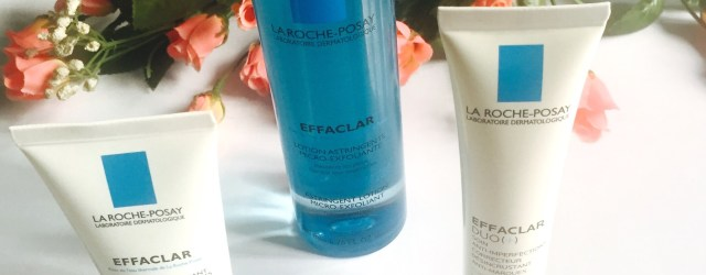 La Roche-Posay Effaclar range review, khadija beauty, best products for acne