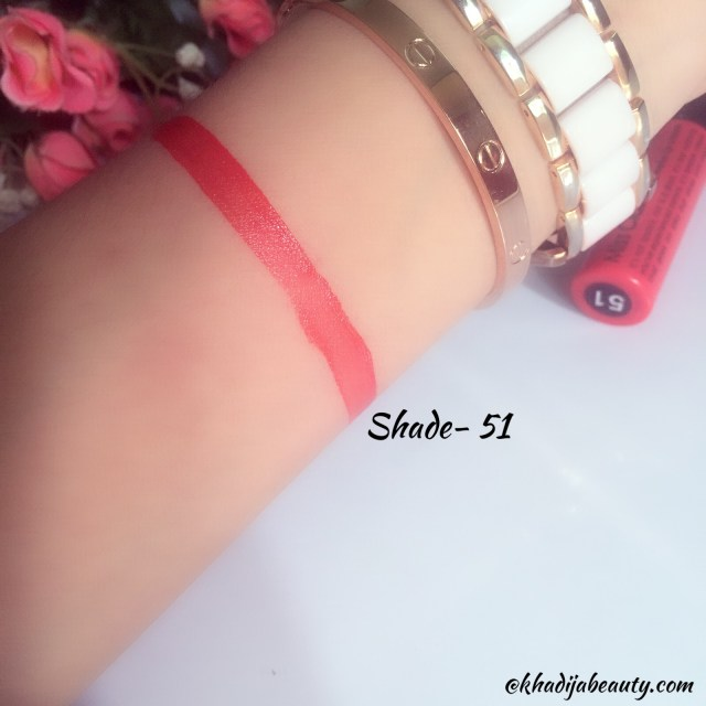 miss claire soft matte lip cream shade 51 review and swatches, khadija beauty