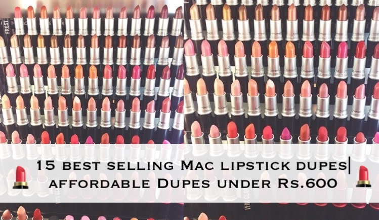 Best selling MAC Lipstick dupes you need to buy| Affordable dupes