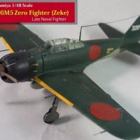 Tamiya 1/48 Mitsubishi A6M5 Zero Fighter (Zeke)