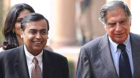 tata ambani retail war
