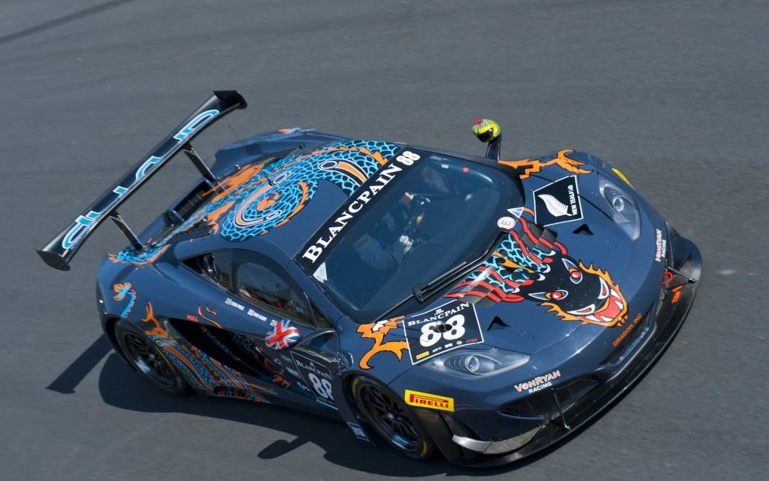 Khaled Al Mudhaf leads Kuwait in prestigious Gulf 12hr Endurance race with McLaren 12C GT3