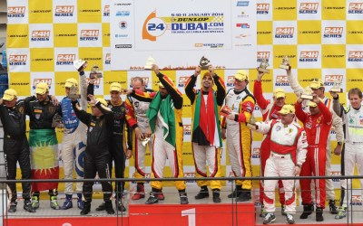 Kuwaiti ace Khaled Al Mudhaf wins Dubai 24hr Pro-Am with Dragon Racing Ferrari 458 GT3