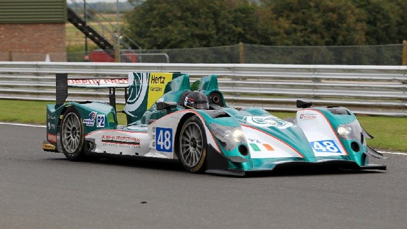 Khaled completes successful test with Murphy Prototypes LMP2
