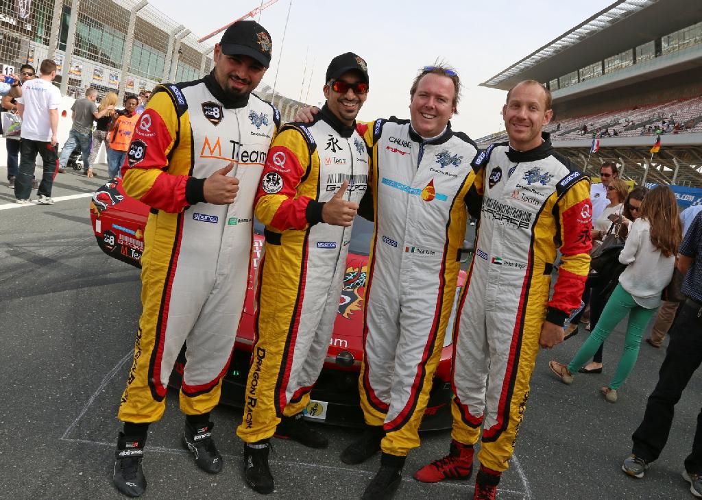 Dubai 24H GT3AM Class Winners 2014 -13
