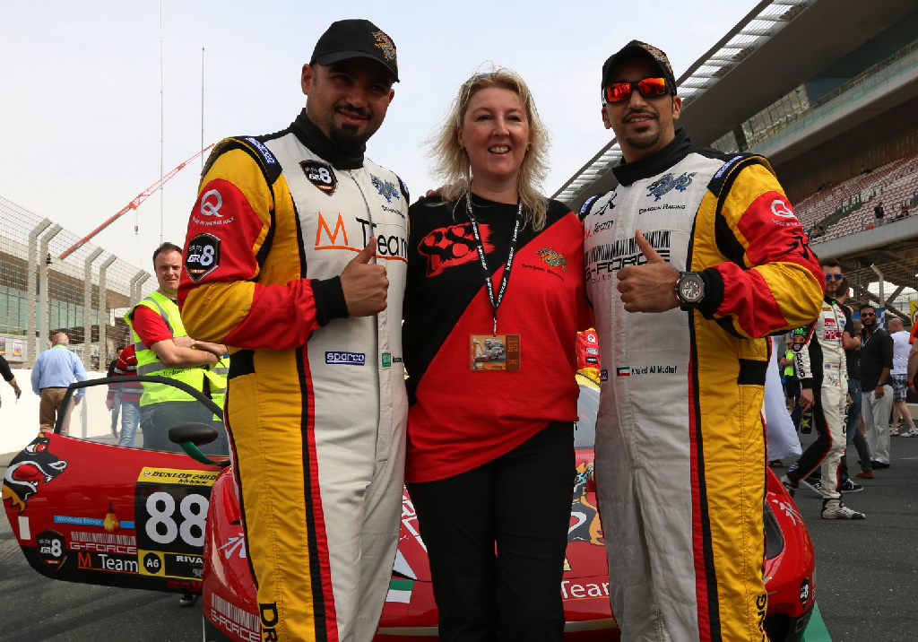 Dubai 24H GT3AM Class Winners 2014 -16
