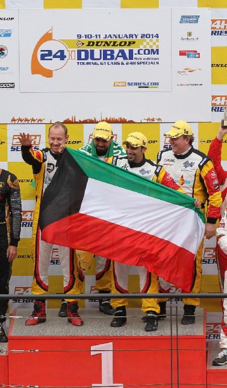 Dubai 24H GT3AM Class Winners 2014 -2