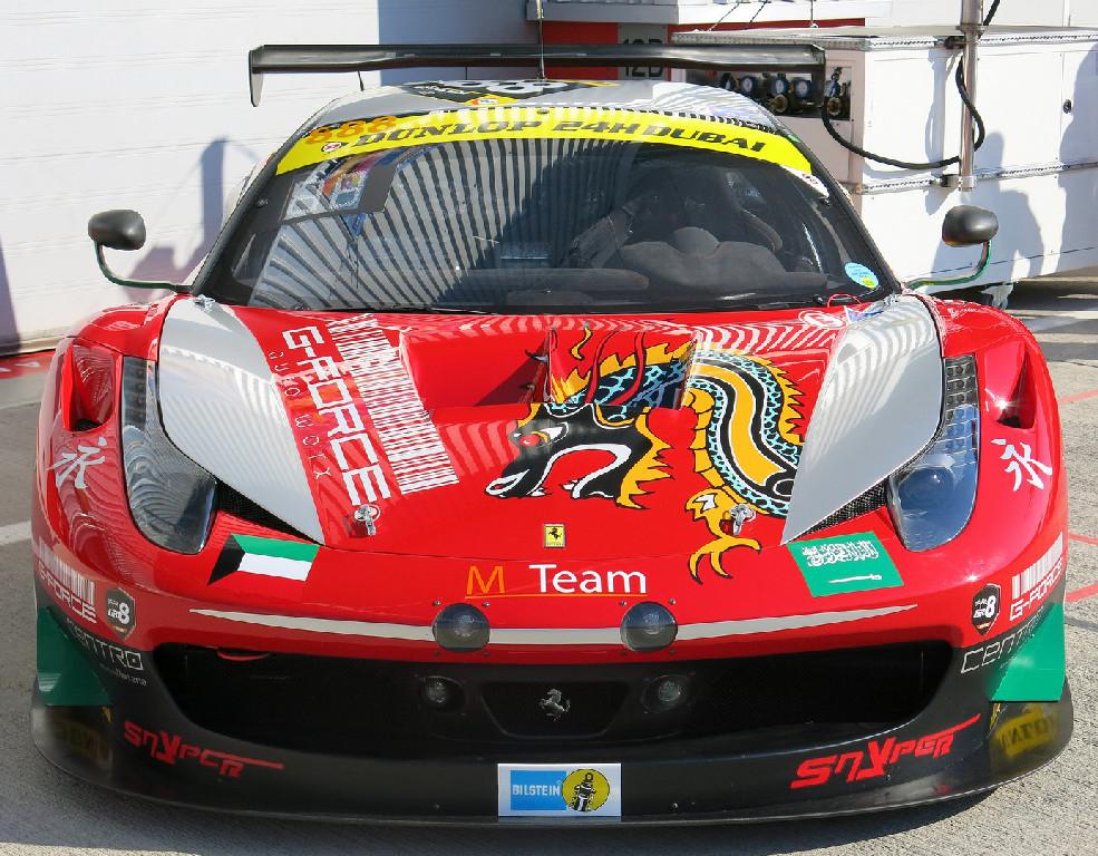 Dubai 24H GT3AM Class Winners 2014 -5